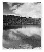 Pau-pique Lake Fleece Blanket