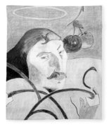 Paul Gauguin Fleece Blanket