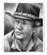 Paul Hogan Fleece Blanket