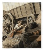 Paul Kruger Fleece Blanket