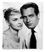 Paul Newman And Joanne Woodward In The Long Hot Summer 1958 Fleece Blanket