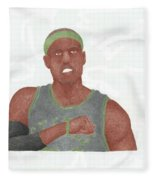 Paul Pierce  Fleece Blanket