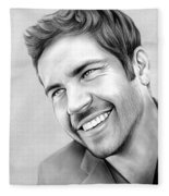 Paul Walker Fleece Blanket