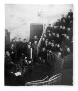 Pavlov In Lecture Theater, 1904 Fleece Blanket