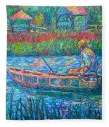 Pawleys Island Fisherman Fleece Blanket