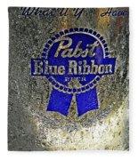 Pbr  Bucket O Beer  Fleece Blanket