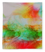 Peace And Light Fleece Blanket