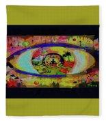 Peace Can Be Seen Fleece Blanket