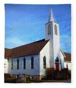 Peace Church Fleece Blanket
