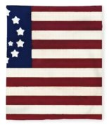 Peace Flag Fleece Blanket