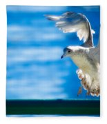 Peace Gull Fleece Blanket