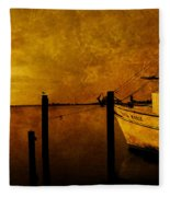 Peace In The Harbor Fleece Blanket