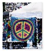 Peace In The Streets Fleece Blanket