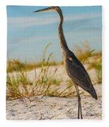 Peace On The Beach Fleece Blanket