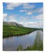 Peace River Fleece Blanket