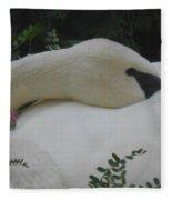 Peaceful Beauty Fleece Blanket