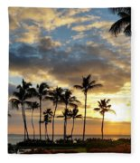 Peaceful Dreams Hawaii Fleece Blanket