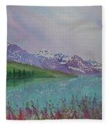 Peaceful Easy Feeling Fleece Blanket
