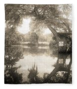 Peaceful Evening Fleece Blanket