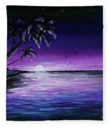 Peaceful Night Fleece Blanket