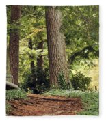 Peaceful Path Fleece Blanket