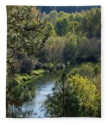 Peaceful River Fleece Blanket
