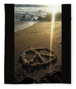 Peaceful Sunrise  Fleece Blanket