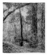 Peaceful Trees Fleece Blanket