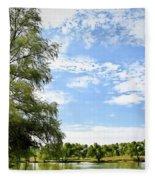 Peaceful View - Bradfield Park 18-37 Fleece Blanket