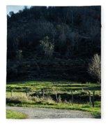 Peaceful West Virginia Valley Fleece Blanket
