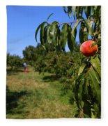 Peach Grove Fleece Blanket