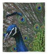 Peacock Enhanced Fleece Blanket