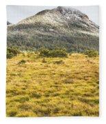 Peaks And Plateaus Fleece Blanket