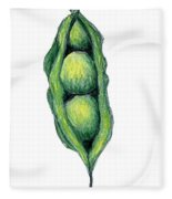 Peapod Fleece Blanket