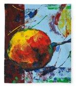 Pear And Sun Fleece Blanket