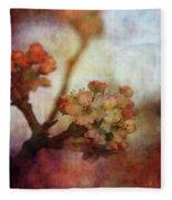 Pear Blossom Sunset 8930 Idp_2 Fleece Blanket