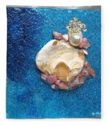 Pearl Of The North Sea Sylt No 1 Fleece Blanket