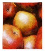 Pears D'anjou Fleece Blanket