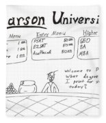 Pearson University Fleece Blanket