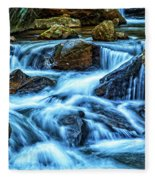 Pearsons Falls On Colt Creek Fleece Blanket