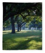Pecan Grove Sunrise Fleece Blanket