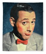 Pee-wee Herman Fleece Blanket