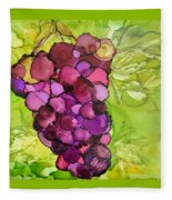 Peel Me A Grape Fleece Blanket