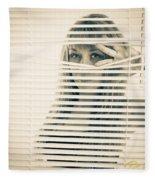 Peeping Alex Fleece Blanket