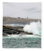 Peggys Cove Lighthouse 6127 Fleece Blanket