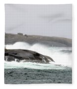 Peggys Cove Lighthouse 6138 Fleece Blanket
