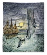Pehe Nu-e: Moby Dick Fleece Blanket