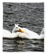 Pekin Ducks Fleece Blanket