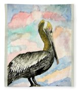 Pelican 2  Fleece Blanket
