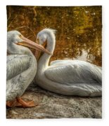 Pelican Bay  Fleece Blanket